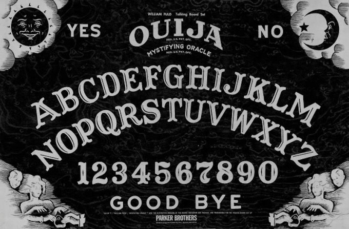 Ouija Board The Haunted Place